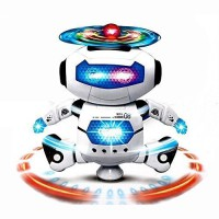 For 379/-(62% Off) Sunshine Dancing Robot with 3D Lights and Music, Multi Color at Amazon India