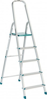 For 2249/-(52% Off) Deal Solimo 5-Step Foldable Aluminum Ladder at Amazon India