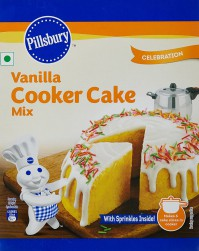 For 49/-(48% Off) Pillsbury Eggless Cooker Cake Mix, Vanilla 159g at Amazon India