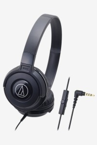 For 597/-(70% Off) Audio-Technica ATH-S100IS On the Ear Earphones with Mic (Black) at TATA CLiQ