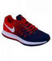 For 2775/-(72% Off) Nike AIR ZOOM PEGASUS 33 Multi Color Running Shoes at Snapdeal