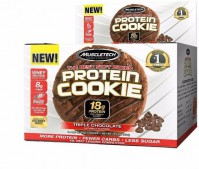 For 499/-(69% Off) Muscletech The Best Soft Baked Protein Cookie  (552 g, Triple Chocolate) at Flipkart